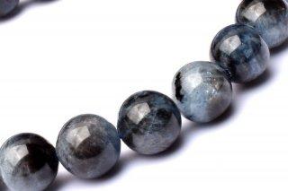 天然石 ブラックスターアクアマリン 9mm ブレスレット aqua-09001b