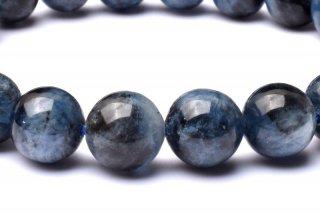 天然石 ブラックスターアクアマリン 9mm ブレスレット aqua-09002