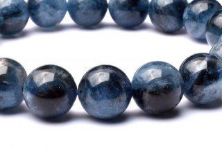 天然石 ブラックスターアクアマリン 10.5mm ブレスレット aqua-10.5001b
