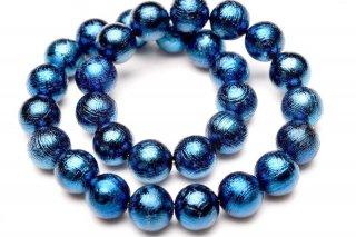 鉄隕鉄 ギベオン ブルー 6mm ブレスレット giv-06001b