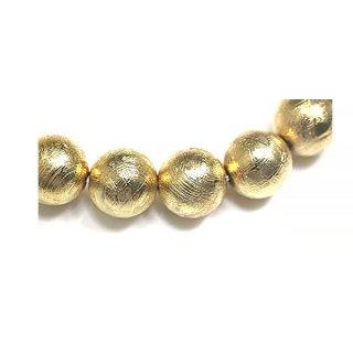 天然石 ギベオン ゴールド 8mm ブレスレット giv-08001g