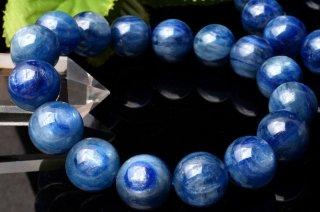 天然石 カイヤナイト 12mm ブレスレット kya-12002