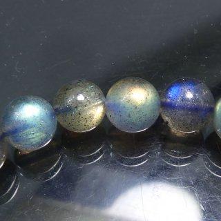 天然石 ラブラドライト. 7mm ブレスレット lab07001