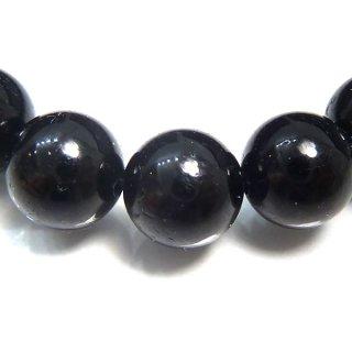 天然石 ブラックトルマリン 8mm ブレスレット tou08001b