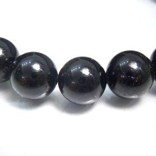 天然石 ブラックトルマリン 10mm ブレスレット tou10001b