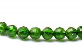 天然石 クロムダイオプサイド 4.5mm ブレスレット dio-04.5001