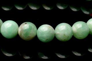 天然石 エメラルド 6.5mm ブレスレット eme-06.5001