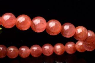 天然石 ペルー産インカローズ 8mm ブレスレット inc-08001