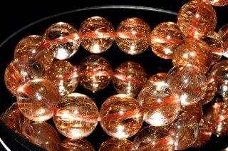天然石 ブロンズルチルクォーツ 11.5mm ブレスレット rut-11.5001bz