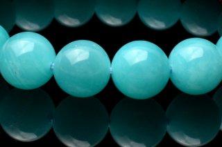 天然石 アマゾナイト 9mm ブレスレット ama-09002