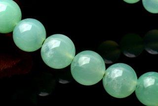 天然石 クリソプレーズ 7.5mm ブレスレット chr-07.5001