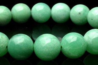 天然石 クリソプレーズ 11.5mm ブレスレット chr-11.5001