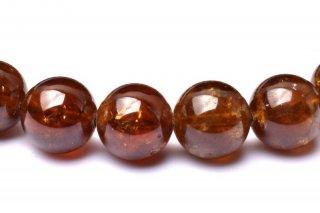 天然石 グリーンガーネット 9mm ブレスレット gar-09001g