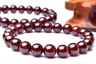 天然石 ロードライトガーネット 10mm ブレスレット gar-10001