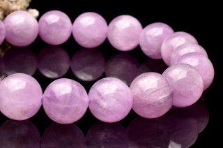天然石 ?ピンククンツァイト 10.5mm ブレスレット kun-10.5002