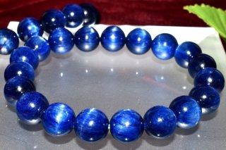 天然石 カイヤナイト 10.5mm ブレスレット kya-10.5004