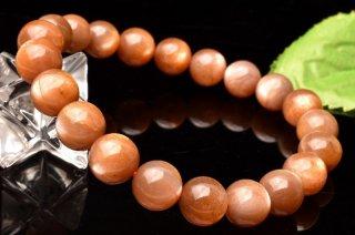 天然石 サンムーンストーン 9mm ブレスレット moo-09007