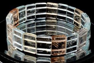 天然石 マルチカラートパーズ バングル 9x13mm ブレスレット top-09x13001