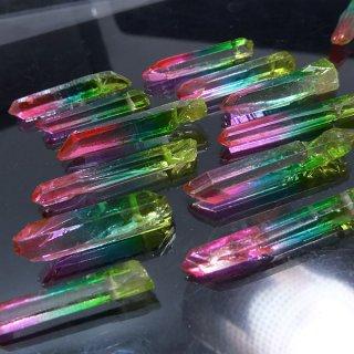 【1粒売り】水晶原石 ポイント レインボー� M cry_pt_M_ra3