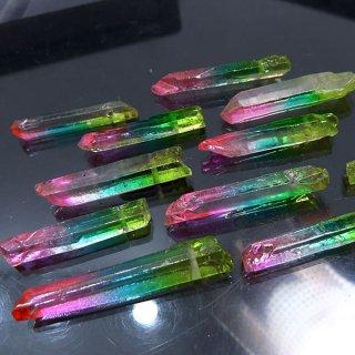【1粒売り】水晶原石 ポイント レインボー� わけあり cry_pt_w_ra3