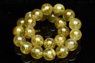 天然石 グリーンガーネット 7.5mm ブレスレット gar-07.5001g