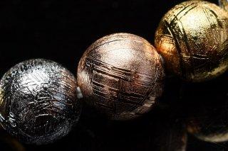 天然石 マルチカラーギベオン 8mm ブレスレット giv-08001m