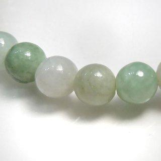 天然石 翡翠 ビルマ産ジェイド . 6mm ブレスレット jad06002