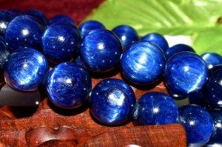 天然石 カイヤナイト 9.5mm ブレスレット kya-09.5001