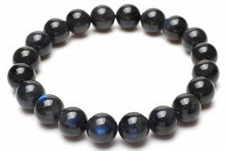 天然石 ブルーラブラドライト 9.5mm ブレスレット lab-09.5001