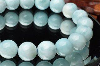 天然石 ラリマー 9.5mm ブレスレット lar-09.5004
