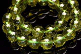 天然石 高品質ペリドット 6mm ブレスレット per-06001