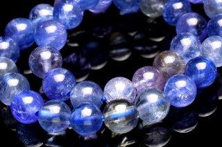天然石 タンザナイト 5mm ブレスレット tan-05002