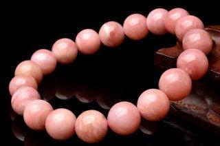 天然石 ピンクオパール 10mm ブレスレット opa-10001p