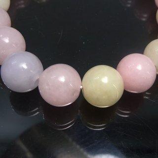 天然石 マルチカラーアクアマリン 10mm ブレスレット ber10001m