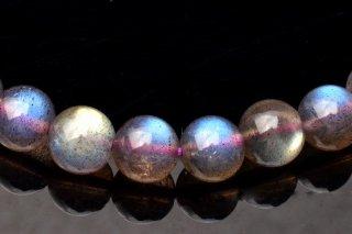 天然石 ラブラドライト 6.5mm ブレスレット lab-06.5001