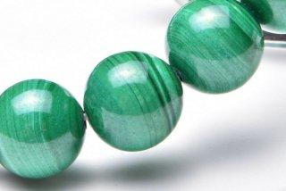 天然石 マラカイト 10mm ブレスレット mal-10001