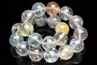 天然石 マルチカラートパーズ 9mm ブレスレット top-09004