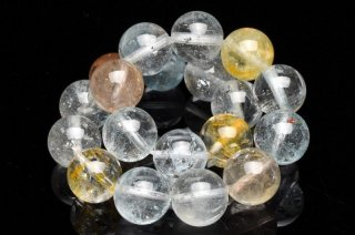 天然石 マルチカラートパーズ 10.5mm ブレスレット top-10.5001