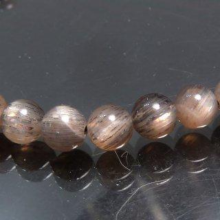 天然石 サンムーンストーン 5mm ブレスレット moo05001sm