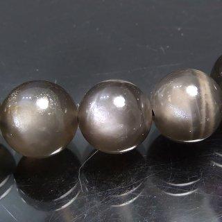 天然石 グレイッシュムーンストーン 8.5mm ブレスレット moo08.5001gr