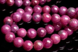 天然石 ルビー 6mm ブレスレット rub-06003