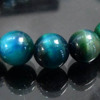天然石 ブルーグリーンタイガーアイ 8mm ブレスレット tig08001g