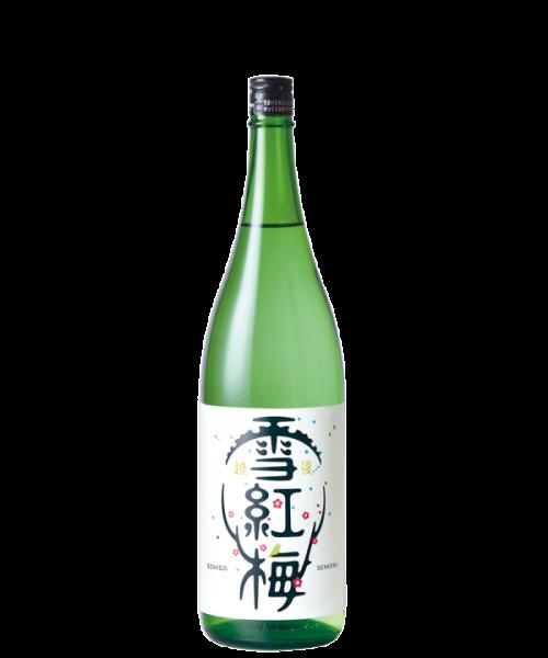 越後雪紅梅 普通酒 1.8L
