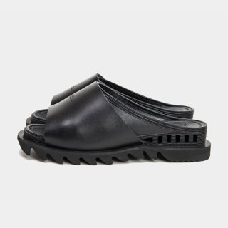 BENSAN-D COVERED LEATHER SHARK SOLE