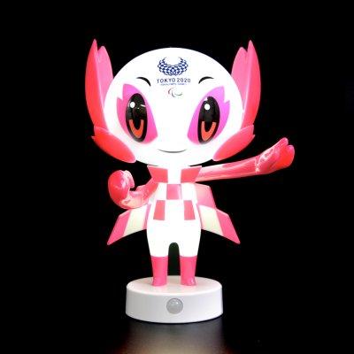 立体マスコットセンサーライト(東京2020パラリンピックマスコット)