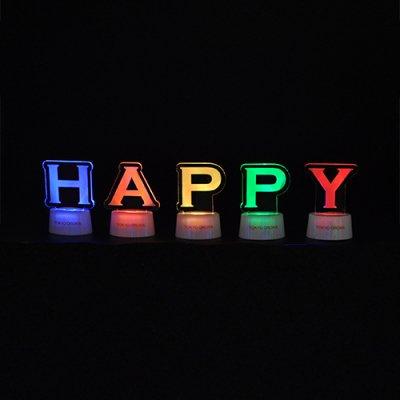 アルファベットスタンドセット「HAPPY」