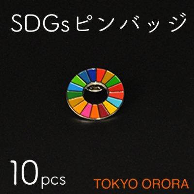 SDGsピンバッジ(10個セット)