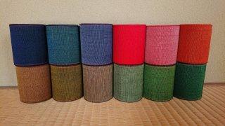 【畳へり】いしだべり 全12種類 5m・10m・40m販売 <鮮やかな縁シリーズ 縦・横・表・裏  方向によって色が変わって見える新感覚畳縁>