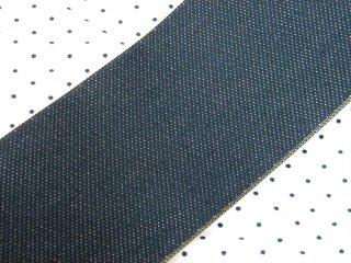 【畳へり端切れ】デニム 4.6m <珍しいデニムの畳へり/人気シリーズ>手芸・バッグ・小物作りに 【一点限り】
