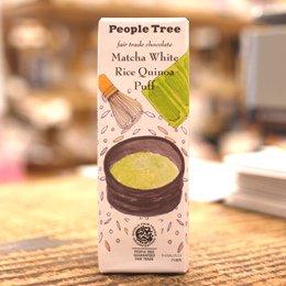 People Tree / 抹茶ホワイト・ライスキノアパフ 45g